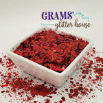 Cherry Red Mix | Holographic | Mix - Grams' Glitter House