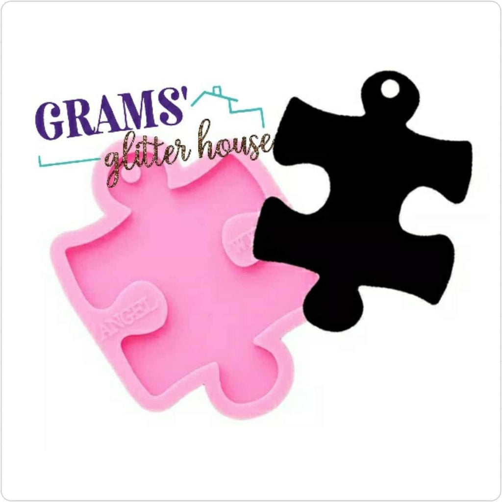 Puzzle Piece Keychain Mold