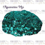 Aquamarine Mix - Grams' Glitter House