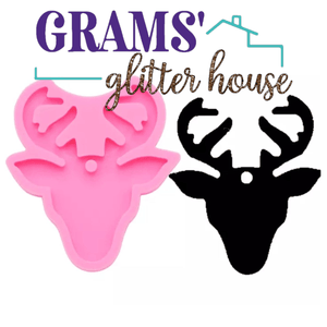 Deer Keychain Mold - Grams' Glitter House