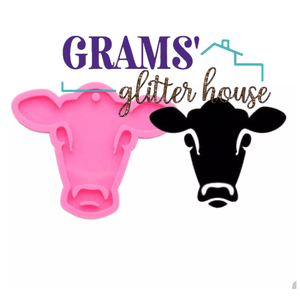Heifer Keychain Mold - Grams' Glitter House