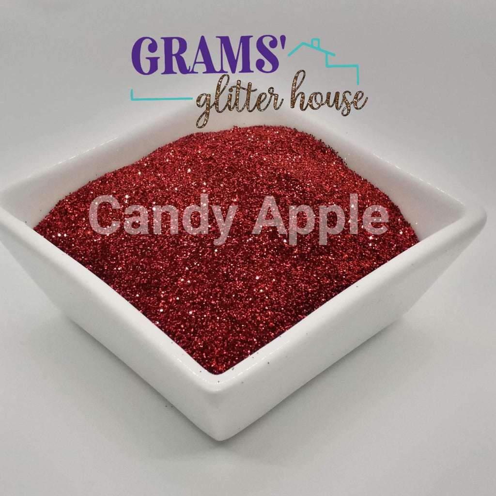Candy Apple Red - Grams' Glitter House