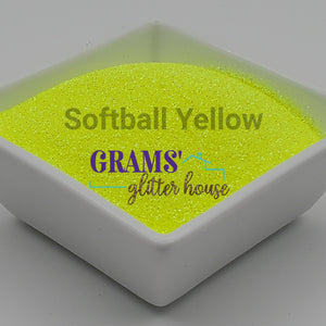 Softball Yellow