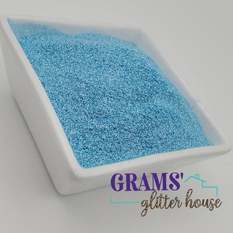 Powder Blue - Pearlescent - Grams' Glitter House