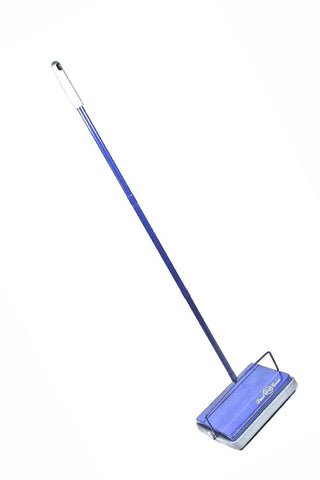 Dustcare 1002 Lightweight Hard Floor & Carpet Sweeper Blu