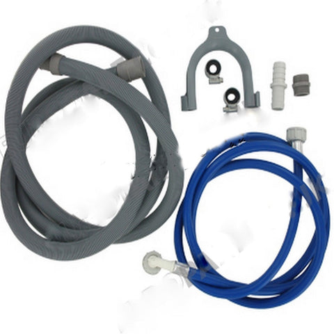 washing machine and dishwasher cold fill water  drain hose extension kit 25m