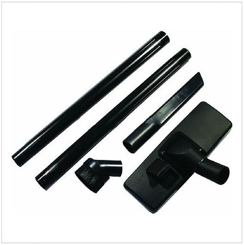 2MM TOOL KIT:FLOORCARE KIT CONTAINING PEDAL FLOOR TOOL TWOPLASTIC EXTENSION RODS CREVICE TOOL & DUSTING BRUSH. BLACK