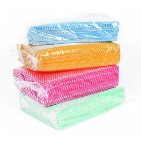 100 All Purpose Hygienic Cleaning Cloths Large Kitchen J Type Cloth Catering