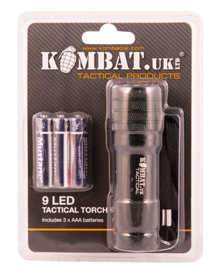 Ultra Bright 9 LED Torch
