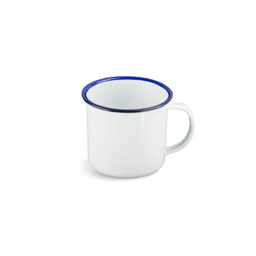 White Enamelware 280ml Mug