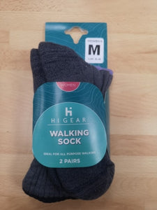 Womens 2pk Walking socks  size 5 to 8