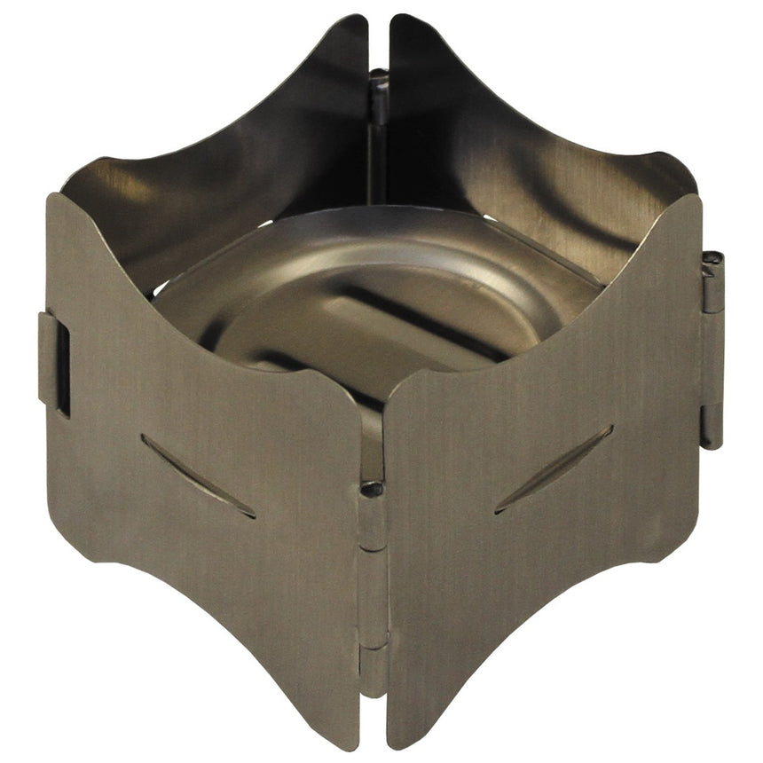 Stove Support, foldable, Stainless Steel
