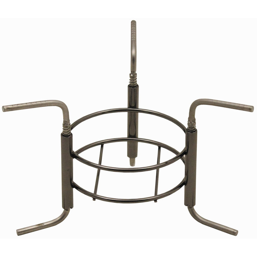 Tripod for spirit stove foldable steel