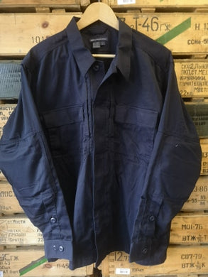511 Tactical Cotton Long sleeve Shirt - Dark Blue