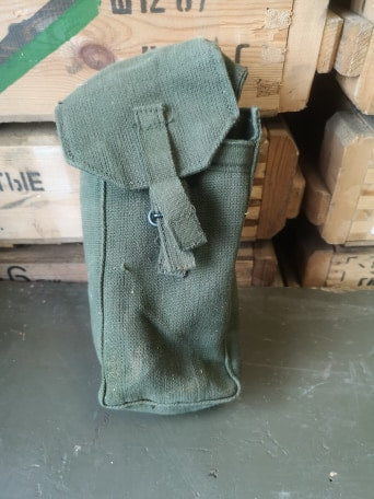 58 Pattern Canvas Ammo Pouch (left)