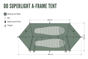 DD SuperLight - A-Frame Tent