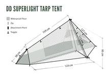 Load image into Gallery viewer, DD SuperLight - Tarp Tent