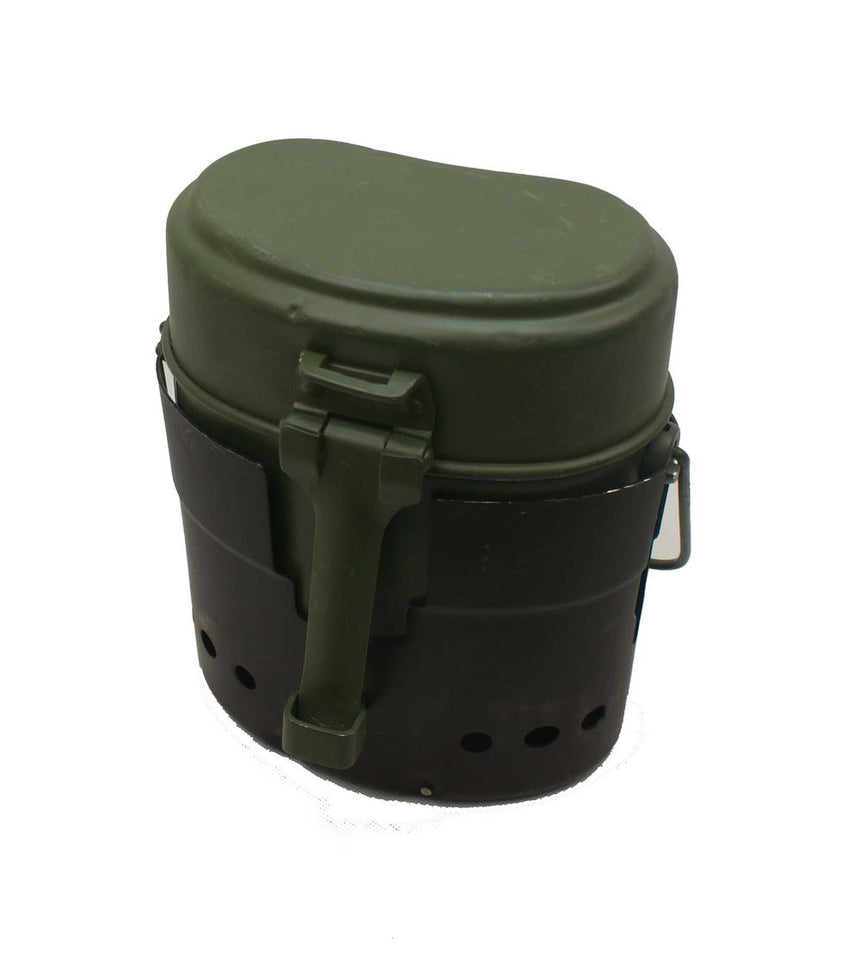 Swedish Army Trangia with Euro Mess Tin