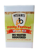 Load image into Gallery viewer, Filthy Festival Wash Kit - PITS & BITS®