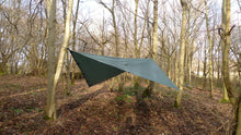 Load image into Gallery viewer, DD Hammocks 3.5 x 3.5 Tarp - Olive Green
