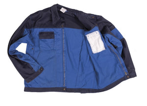 Two Tone Blue Work Jacket