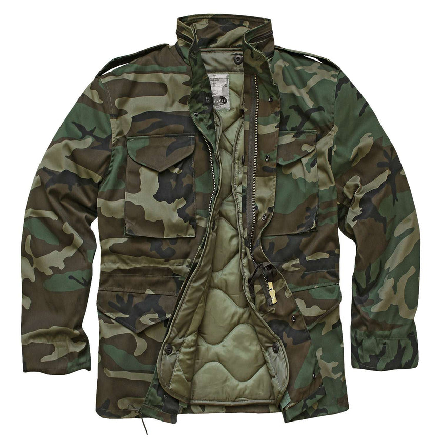 M65 Field Jacket Woodland Camo US Army Type