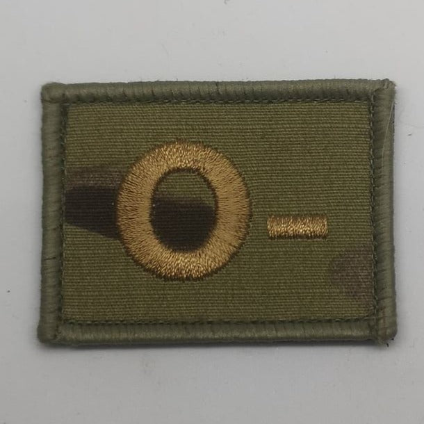 O- Military Blood Group Patch Multicam®