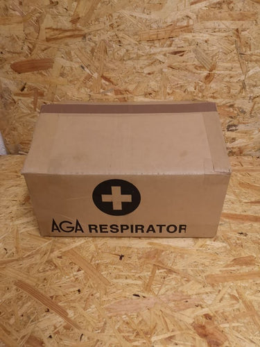 Swedish Army Medical Respirator Complete Set - Resuscitation