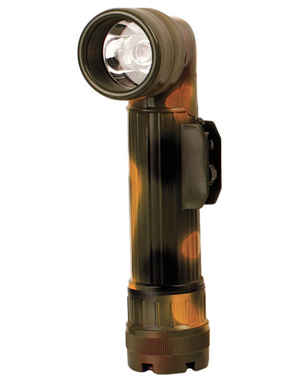 Angle Torch with Colour Lenses- Large