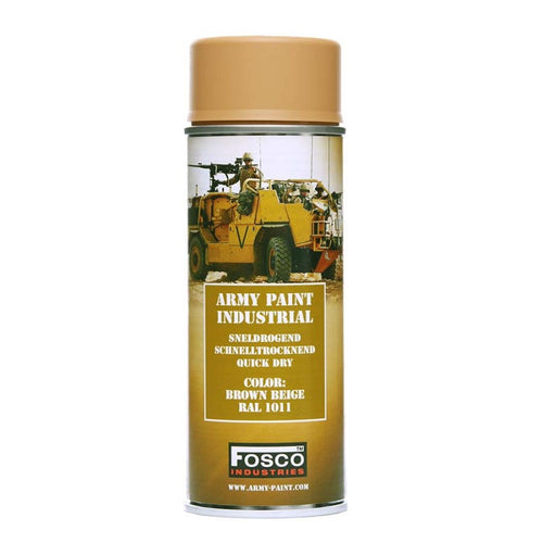 Brown / Beige RAL1011 - Military Spray Paint 400ml