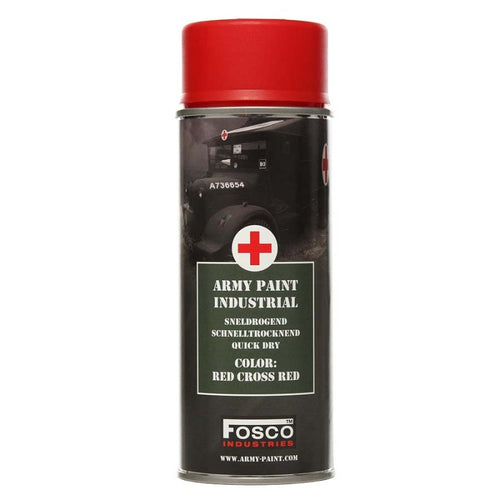 Red Cross Red - Military Spray Paint 400ml