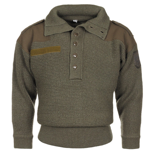 Austrian Army 100% wool Pullover