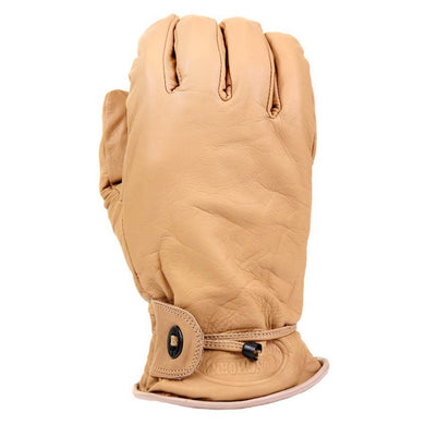 Leather Gloves - Tan