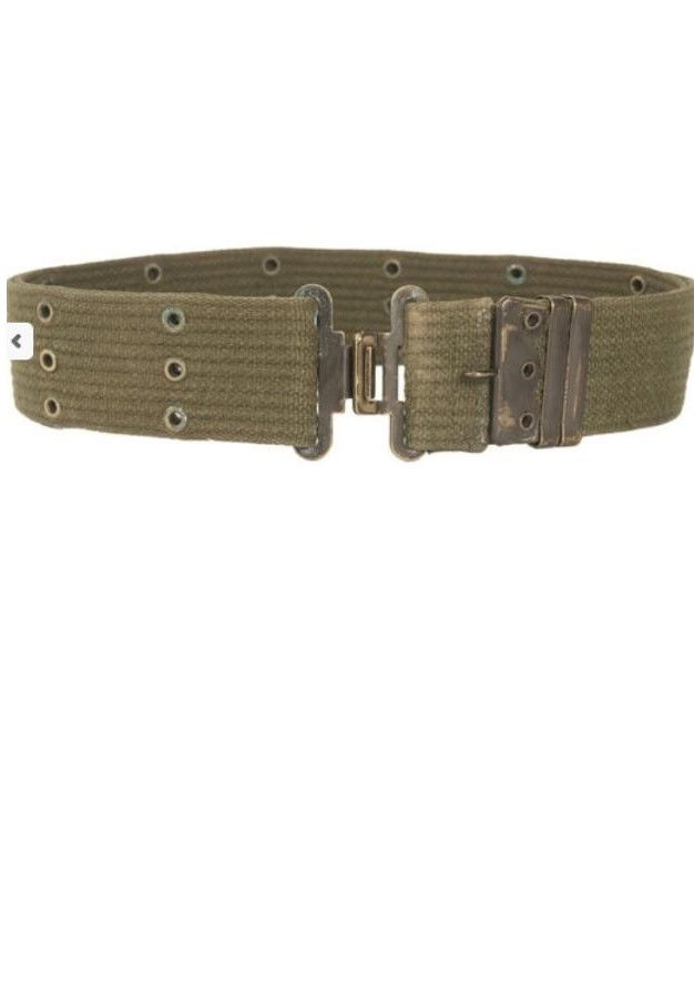 Belgian / US Army Combat Belt. M1971