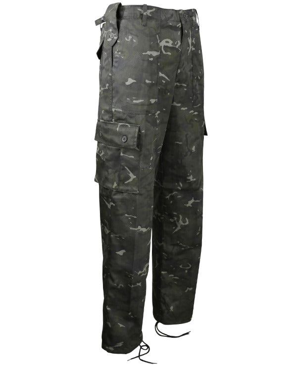 Black BTP Kombat Trousers
