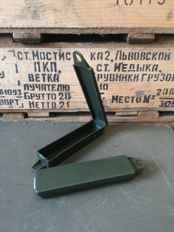 British Army Auto injector Morphene Case