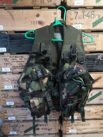British Army DPM Assault Cot Vest