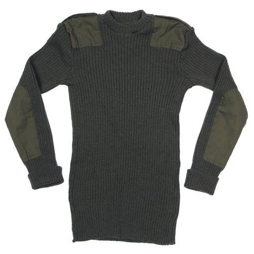 British Army Olive Green Pullover