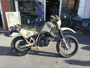 Cagiva w12 T4E Ex French army Motorcycle