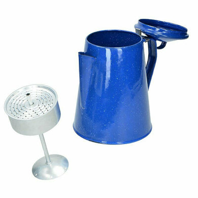 Enamel Coffee Percolator