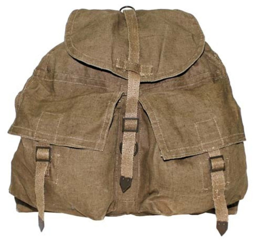 Czech M60 canvas backpack