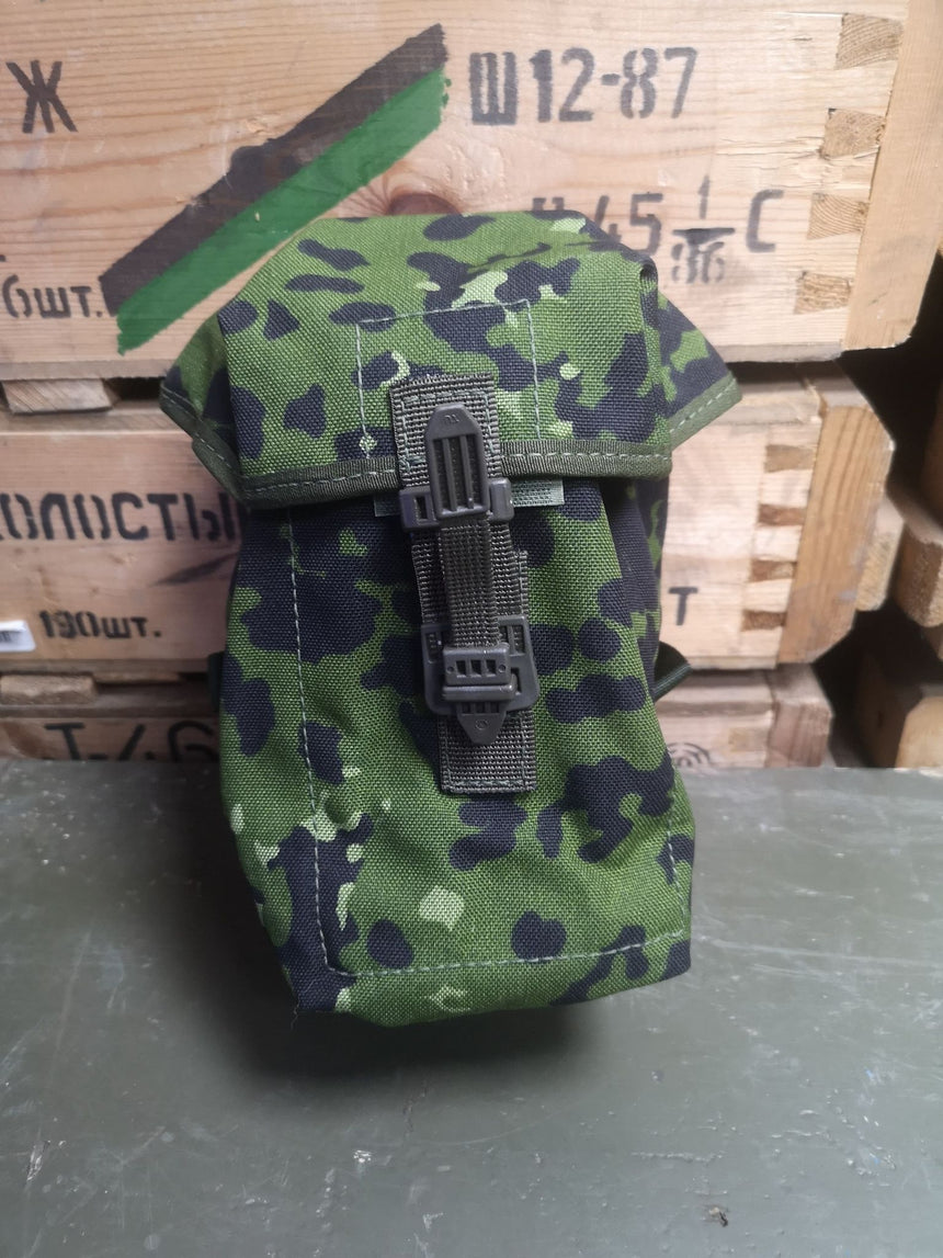 Danish Army M96 Camo Waterbottle Pouch and bottle