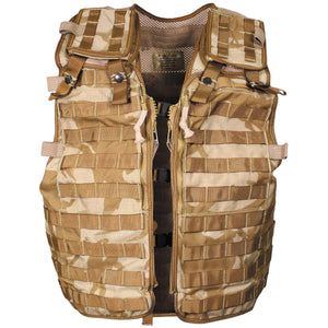 British Army Desert Molle Assault Vest