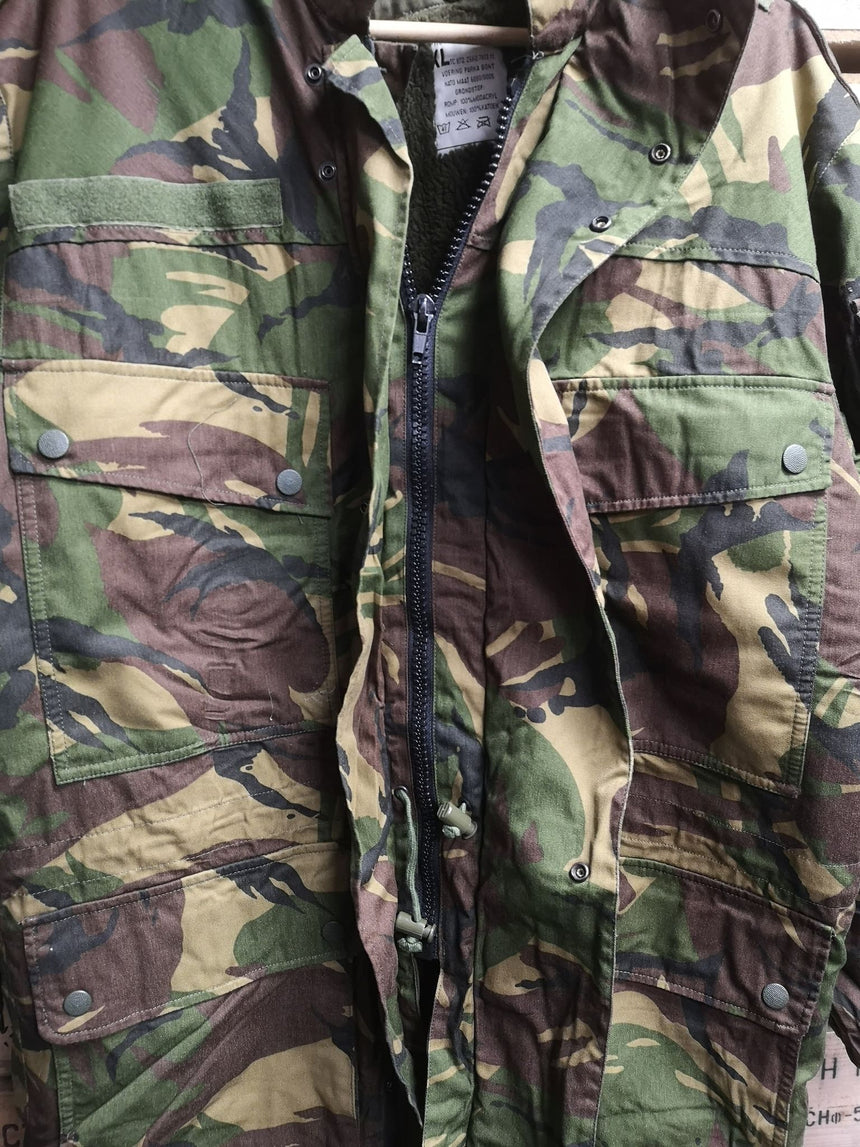 Dutch 3-in-1 DPM pile lined Camo Goretex Parka - Unissued