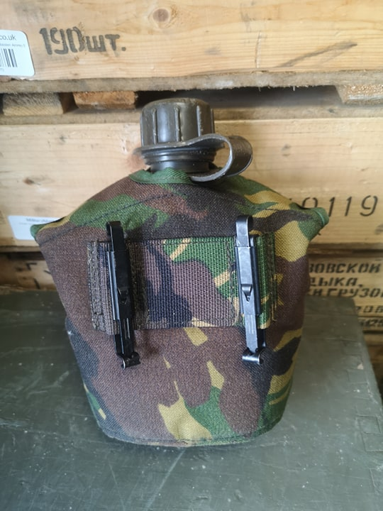 Dutch Army 44 Pattern Waterbottle & Dpm Pouch