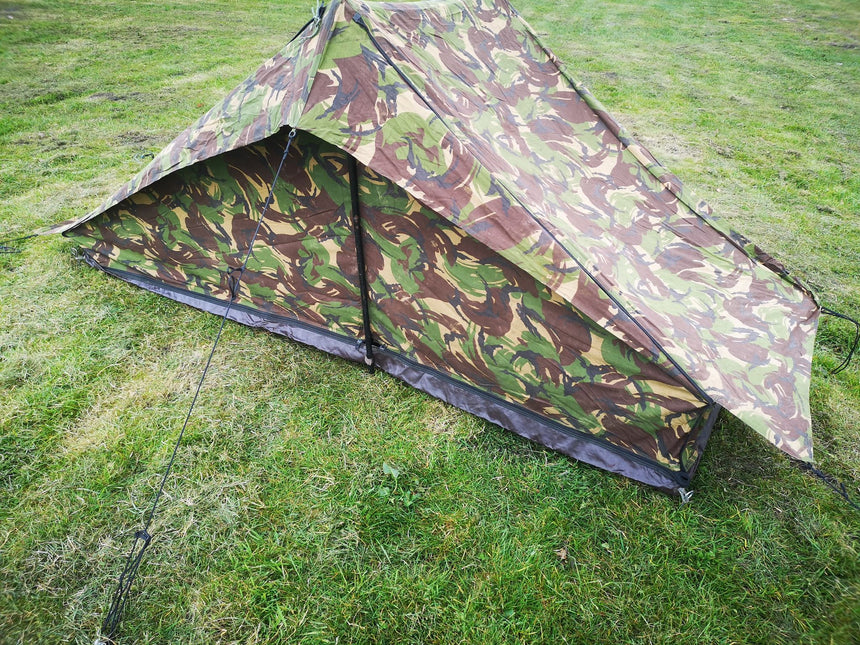Dutch Army DPM Woodland Tent - Unissued