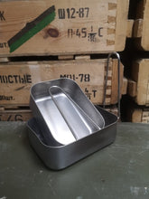 Load image into Gallery viewer, Dutch Army Steel Mess Tins