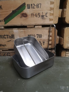 Dutch Army Steel Mess Tins