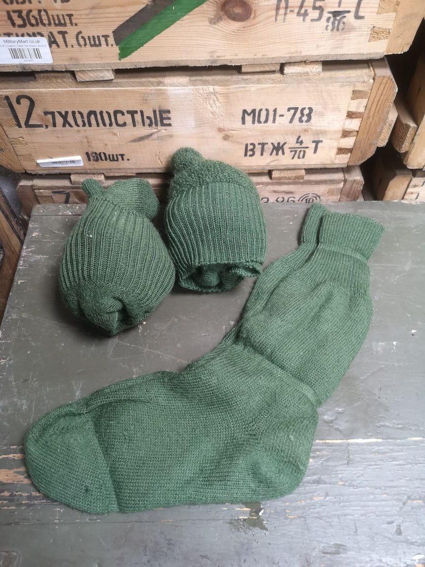 Dutch Army Wool Socks - Olive