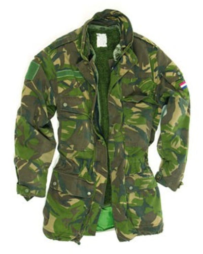 Dutch 3-in-1 DPM pile lined Camo Goretex Parka